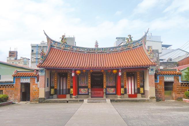 林氏家廟追遠堂創建1835年,雖然經過多次整修,但大致能遵循原貌且擁有豐富多樣的文物。(宜蘭縣文化局提供/李忠一宜蘭傳真)