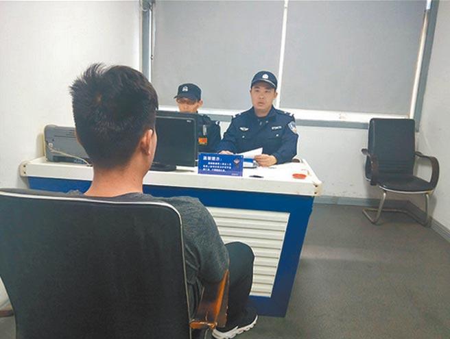 徐男在2019年被江蘇警方拘留5日,處以5萬元人民幣罰款。(取自微博)