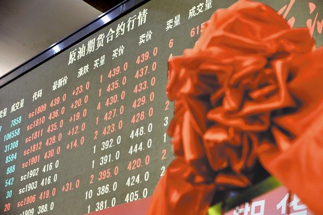 2018年3月26日,中國原油期貨正式在上海期貨交易所子公司上海國際能源交易中心上線交易。(中新社資料照片)