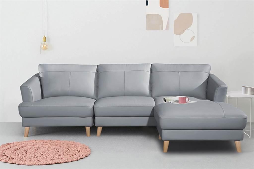 經典的霧灰藍色彩,非常適合放在北歐風居家中。(圖片提供/綠屋家居)