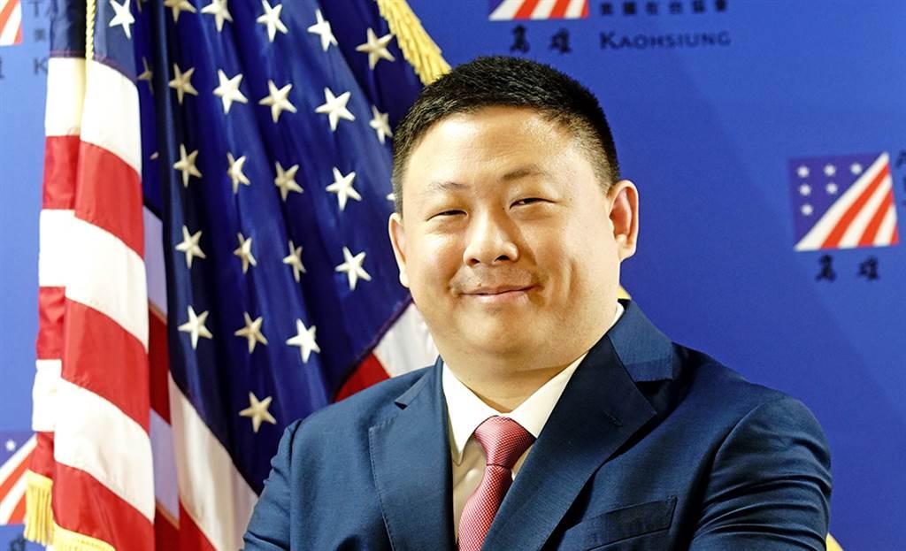 八月份甫走馬上任的美國在台協會高雄分處處長禹道瑞。(圖/曾信耀攝)