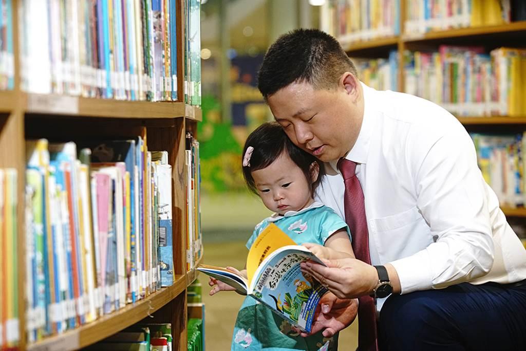 重視家庭的禹道瑞,也從女兒的視角認識不同的台灣。(圖/曾信耀攝)