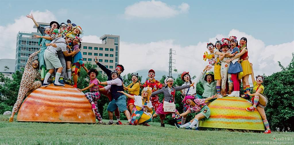 紅鼻子關懷小丑協會是台灣第一個專業小丑醫生組織。(照片提供/紅鼻子關懷小丑協會)