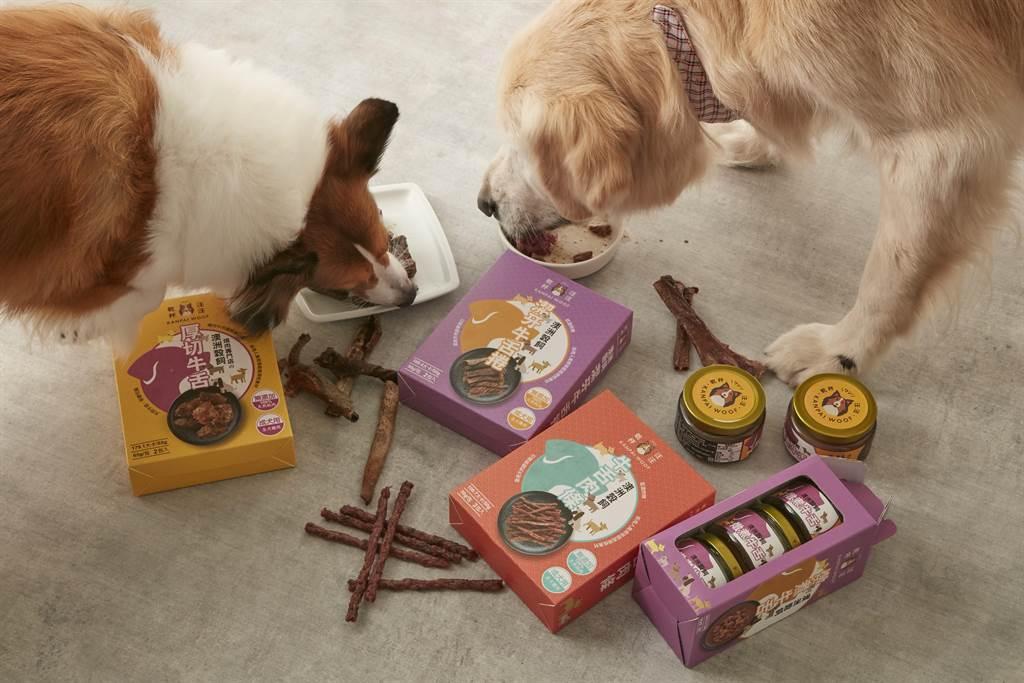 乾杯推出寵物食品,標榜「人可食用等級」,提供與旗下餐廳相同規格肉品製作。(圖/乾杯)