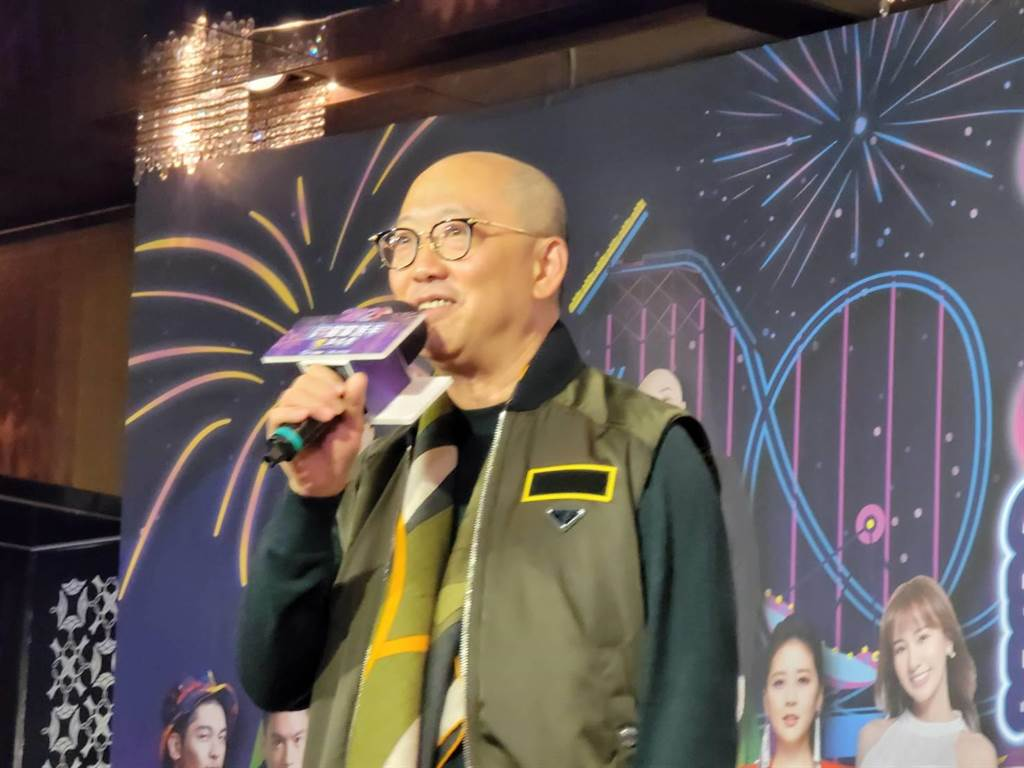 麗寶樂園渡假區副董事長陳志鴻表示,台中麗寶跨年活動將是全台最精彩的亮點!(王莫昀攝)