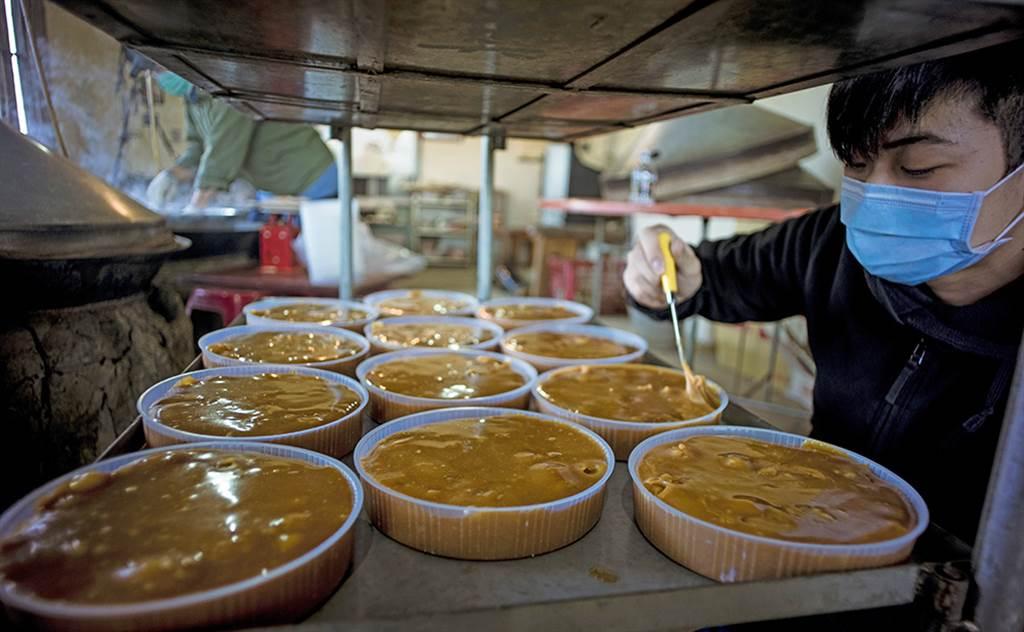 滿金商行的年糕原料單純,只用自家種的糯米、白糖,加上滿心誠意。(照片提供/滿金商行)