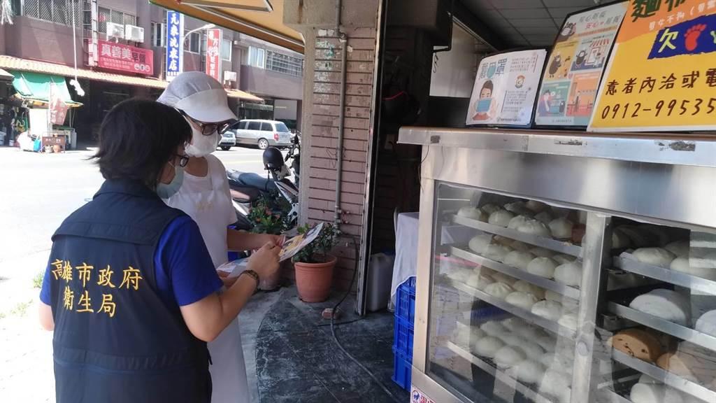 高市近期稽查21家早餐店,10日公布抽驗結果。(高市衛生局提供/柯宗緯高雄傳真)