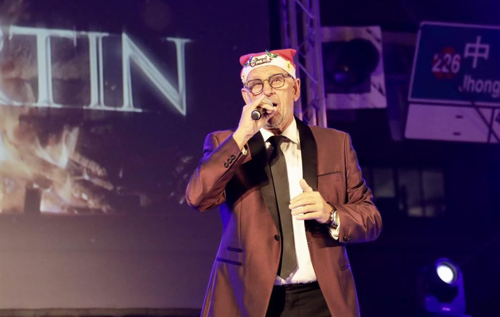 美聲歌手馬丁將於12日在新營文化中心開唱。(南市府提供/李宜杰台南傳真)