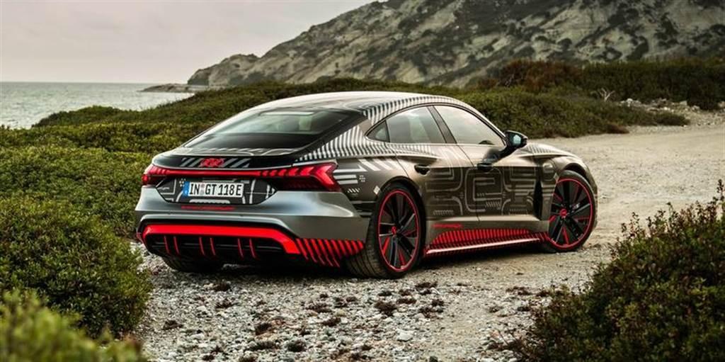 Audi e-Tron GT 電動跑車在德國工廠開始生產,使用 100% 綠色電力
