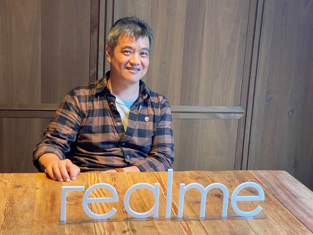 realme台灣市場商務長鍾湘偉。(圖/王逸芯攝)