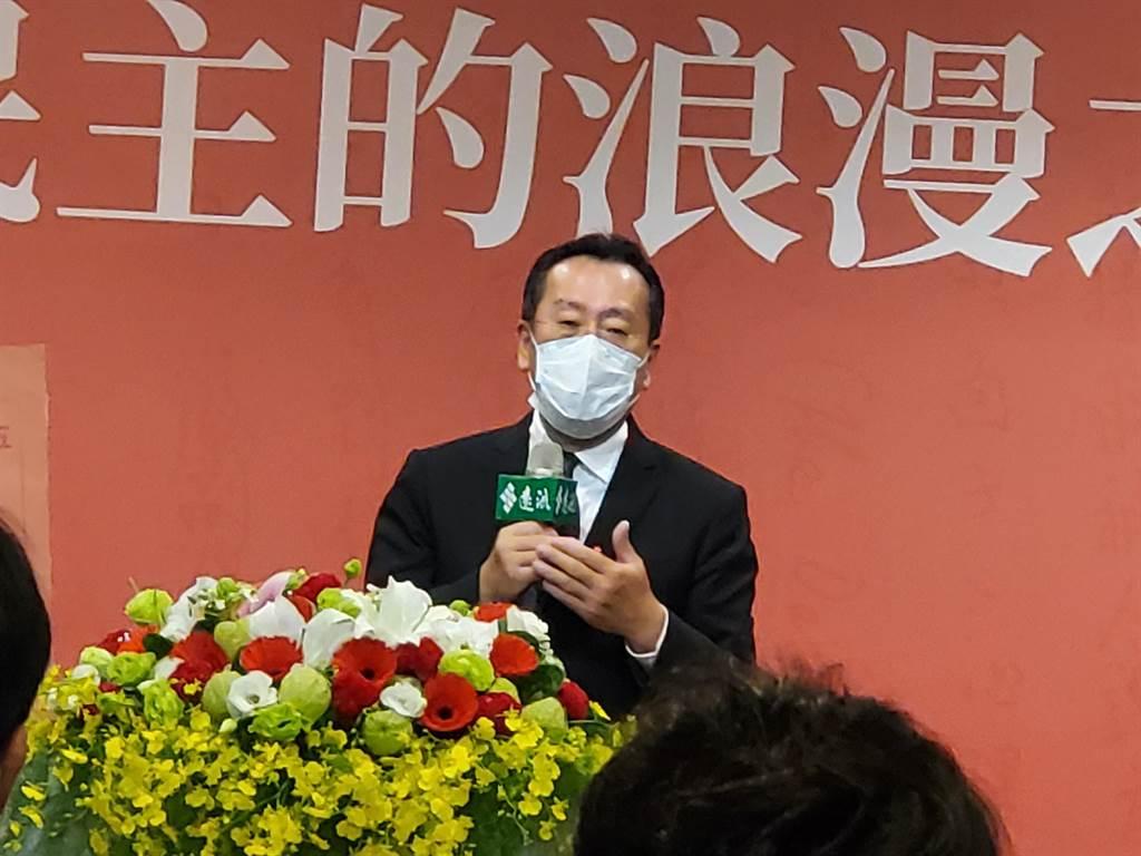 陳菊向國安會「頭子」顧立雄喊話:把雷震文稿還家屬。曾薏蘋攝