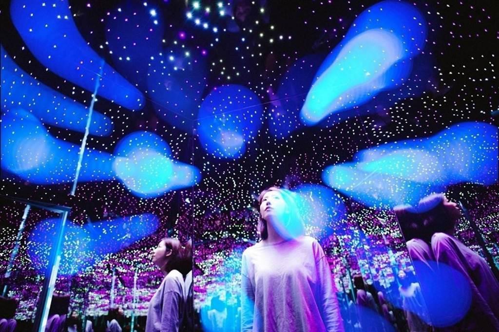 紅遍全球的超人氣「幻覺博物館」免出國在台中就能體驗。(KLOOK提供/黃慧雯台北傳真)