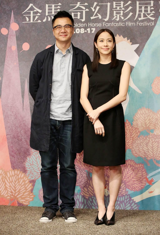 袁劍偉(左)表示恢單才交往林嘉欣,沒有小三之說。(圖/中時資料照)