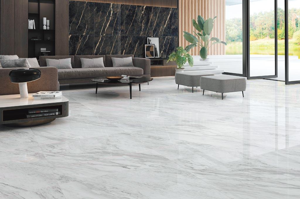 90×90及60×120大理石全新規格,輕鬆打造品味質感好宅。圖/業者提供