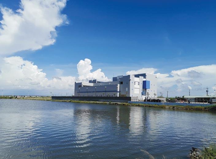 雲林離岸風力發電廠採用ClimateCoating航太奈米斷熱節能塗料做為外牆保護。圖/業者提供