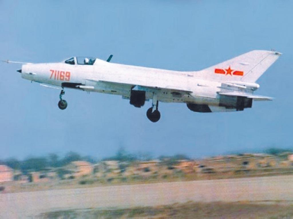 殲-7入選全球十大最受歡迎戰機。(取自大陸國防部)