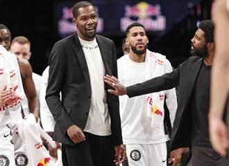 NBA》杜蘭特稱沒考慮過哈登 新球季或打中鋒