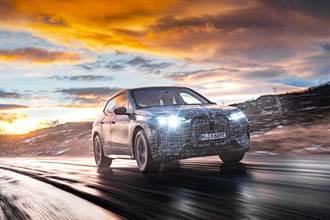 BMW iX開始進行最終的冬季測試