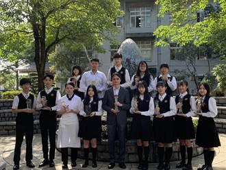 用努力彌補天份 翁浿珉奪技藝競賽冠軍