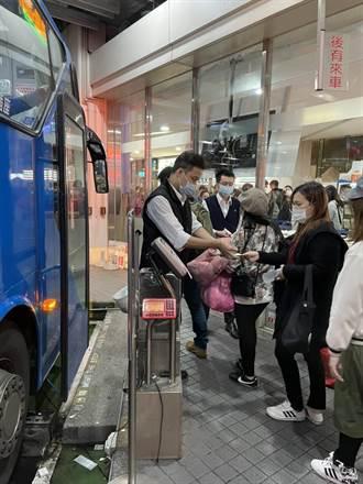 首都客運加強協助東部疏運 首都北花線增班