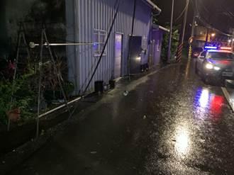 地震規模6.7 宜蘭員山鄉台電電線掉落