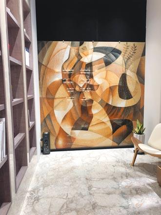 優雅建材展出超大薄板磁磚 市場驚艷