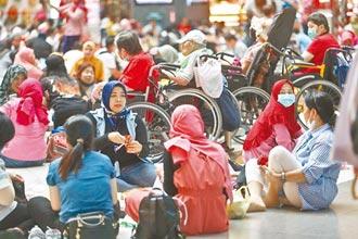 印尼移工確診太多 指揮中心:持續暫緩來台