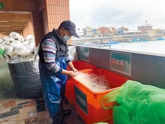桃收購廢漁網 1個月20公噸