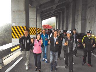 都達明隧道延長 2000村民通樂