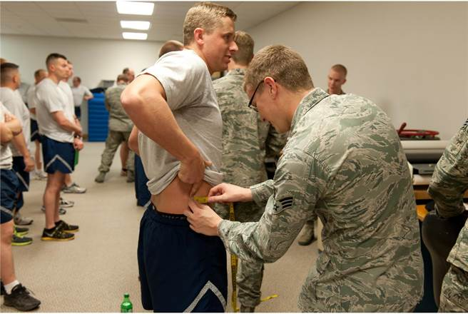 因疫情持續嚴峻,空軍宣布延後體測至2021年4月,而體測項目中的腰圍測量,則永久取消。(圖/DVIDS)