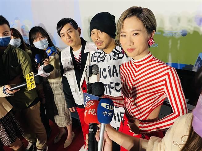 黃子佼、LuLu同台秀「最大亮點」 惹黃明志喊:我也是欸!(吳康瑋攝)