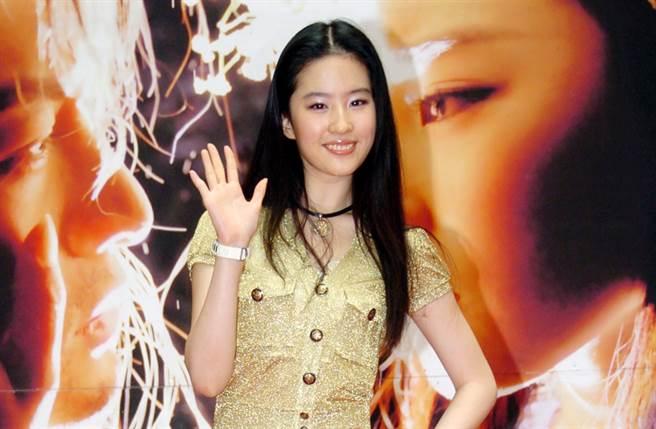 傳劉亦菲過去拍戲曾帶編劇進劇組。(圖/中時資料照片)