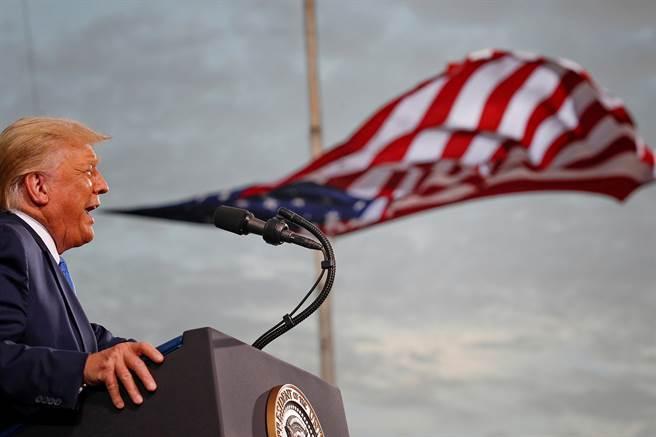 川普對於大選結果不認輸。(路透)
