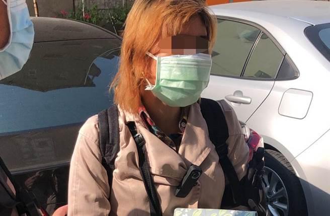 警方在高雄找到林女(见图),并在其家中寻获失踪12年的女童。(宋原彰翻摄/民眾提供)