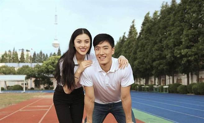 劉翔、葛天2015年結束短命的9個月婚姻。(圖/取材自新浪娛樂)