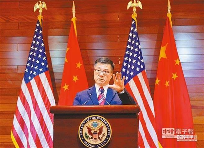 美國駐華大使駱家輝。(中新資料照)