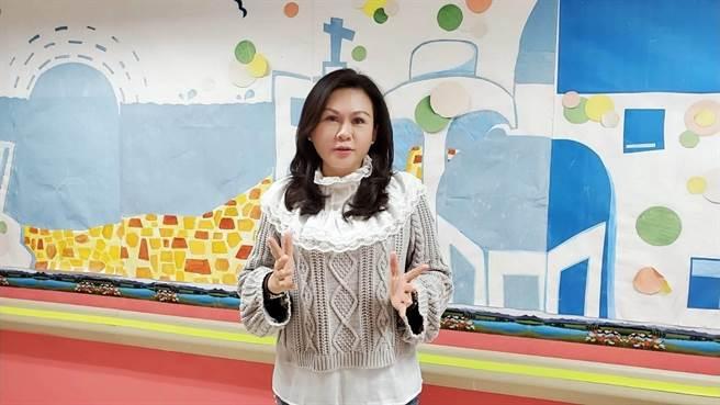 台南市議員林燕祝在女大生命案後,率先關心台南市警民比低落問題,促台南市政府向中央申請增加警力。(林燕祝服務處提供/程炳璋台南傳真)