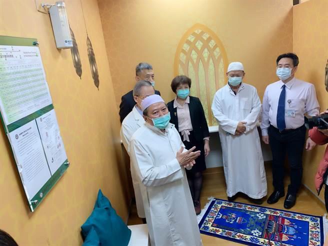 高醫通過穆斯林友善醫院認證,也是南台灣首家通過穆斯林友善醫院認證的醫學中心。(柯宗緯攝)