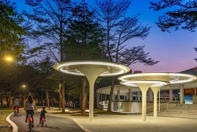 高美館整修耗時7個月,即將於2021年1月22日傍晚時分重新開放。(高美館提供/袁庭堯高雄傳真)