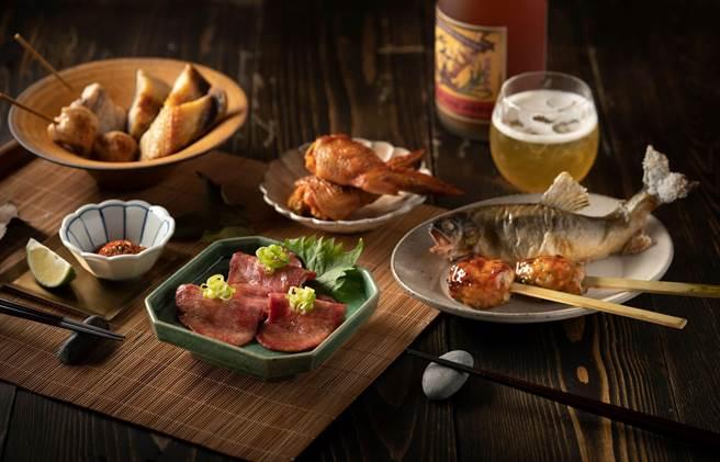 「旭集 和食集錦」是去年底才開幕的日本料理吃到飽餐廳。(饗賓餐旅提供)
