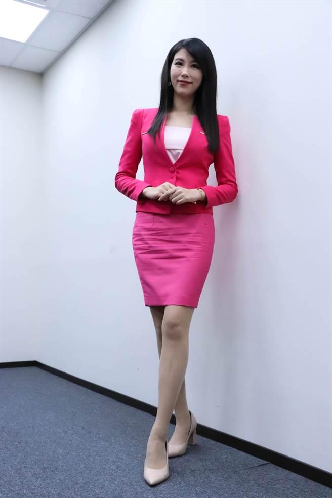 中天主播劉盈秀在中天新聞11年5個月。(中天新聞台提供)