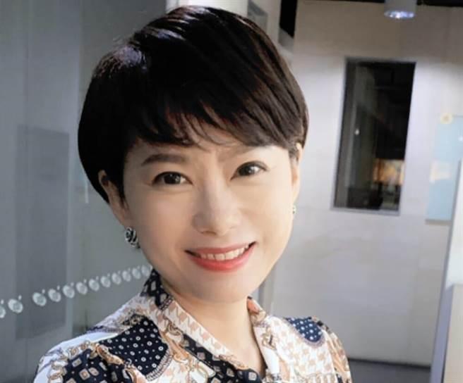 自詡「全台灣最會搬家的電視台主播」洪淑芬:浴火鳳凰將更強大。(中天新聞台提供)