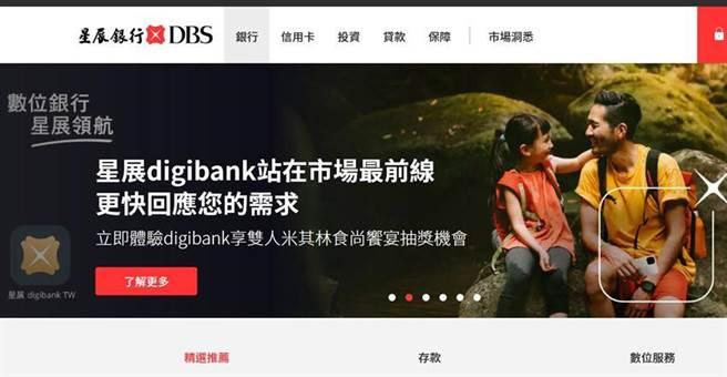星展銀行定位為「數位金融創新先驅」,率先以數位科技形塑未來銀行的營運模式。資料來源/星展(台灣)銀行官網