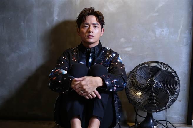 宥胜为主演的HBO新影集《戒指流浪记》接受专访。(陈俊吉摄)