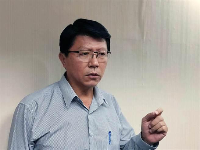 國民黨台南市議員謝龍介。(本報資料照片)