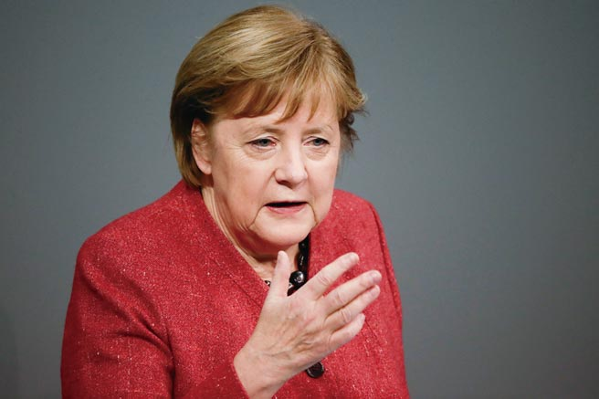 德国总理梅克尔
