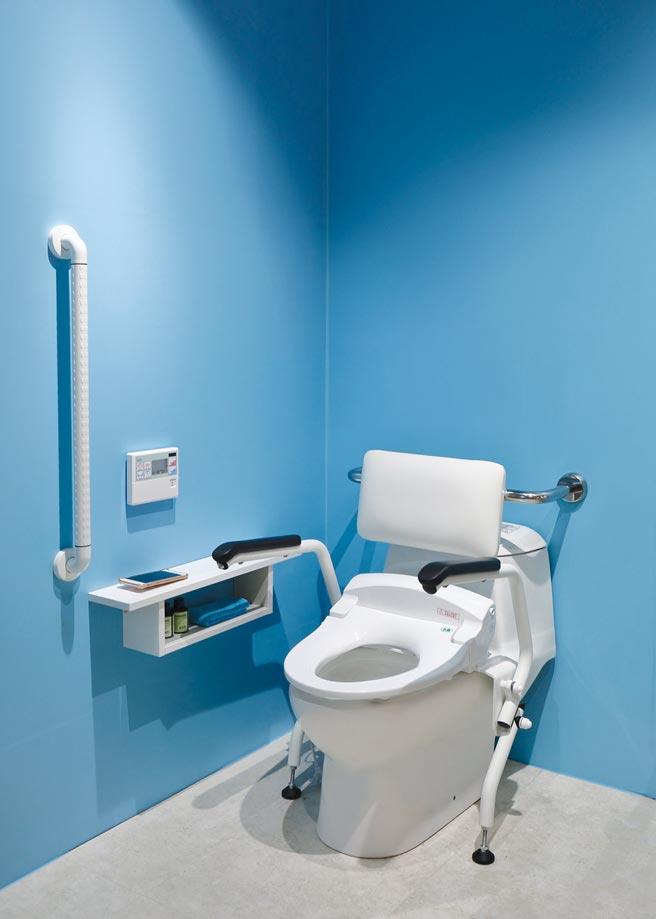 和成HCG全通用設計Design for all概念的衛浴設備,提供的是以人為本、尊重差異性為設計前提的衛浴使用環境。圖/業者提供