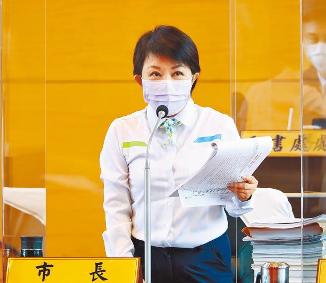 台中市長盧秀燕強調,中市已是全國最大火力發電廠,沒有義務再成為全世界最大的火力發電廠。(陳世宗攝)