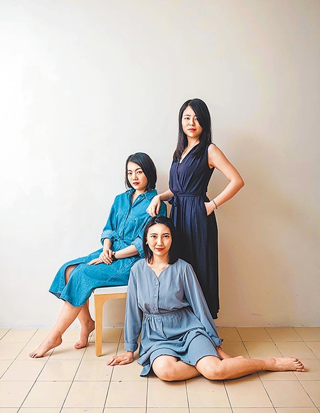 走走家具由宋倍儀、陳姿廷、黃璟平3位女生所創立。(走走家具提供)