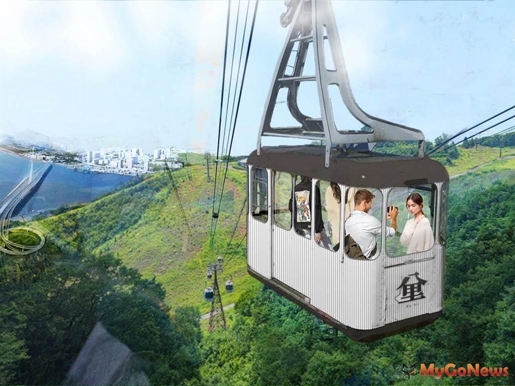 八里纜車政策規劃招商將採BOO,不限路線環境生態擺第一(圖/新北市政府)